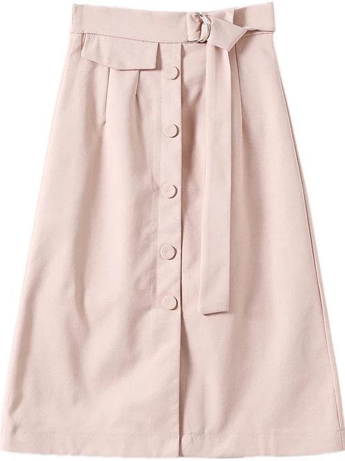 氣質系帶半身裙