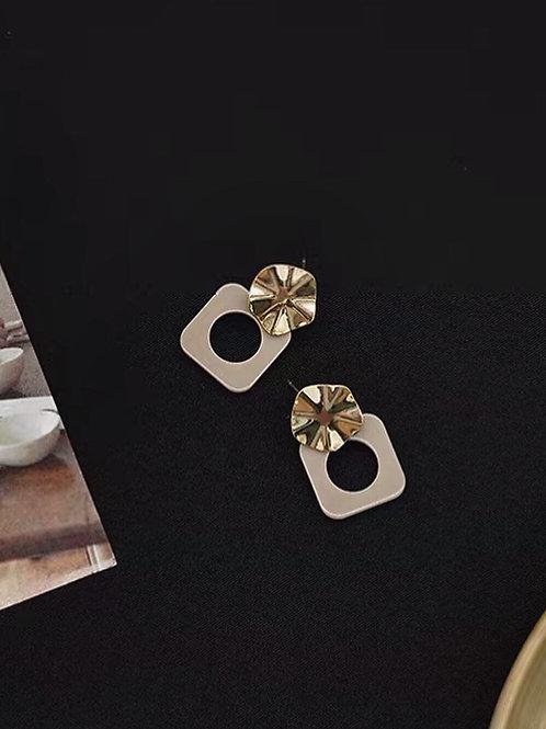 簡約百搭耳環 (925銀針/耳夾)