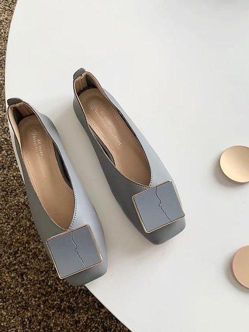 SH032簡約百搭平地鞋