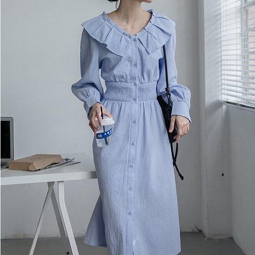 SH514 休閒設計感連身裙