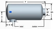 cylinder engine silencer