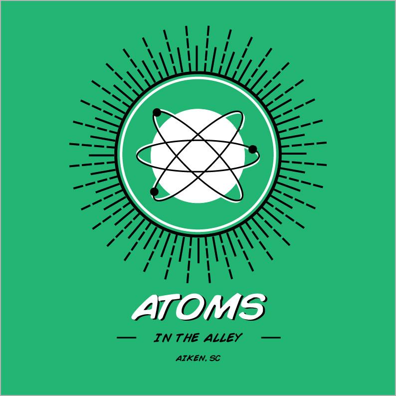 Atoms in the Alley logo - Orbit correcte