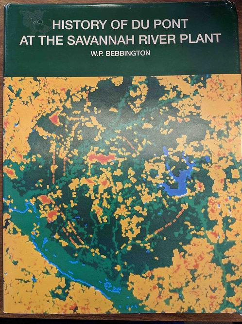 History of Du Pont at the Savannah River Plant