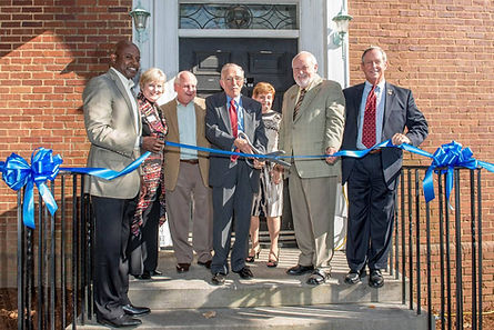 Ribbon cutting for the Grand Opening of the SRS Museum