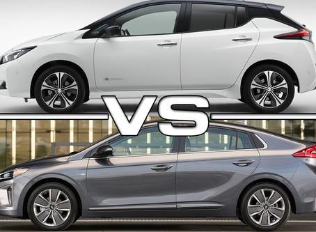 Nissan Leaf 2018 vs. Hyundai IONIQ electric