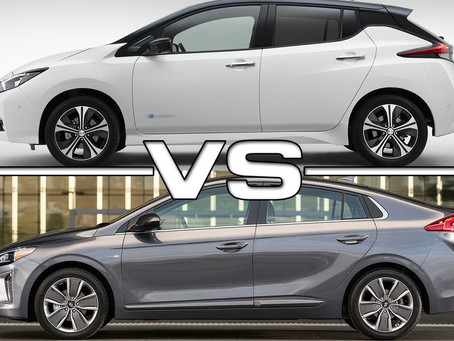 Nissan Leaf 2018 vs. Hyundai IONIQ electric