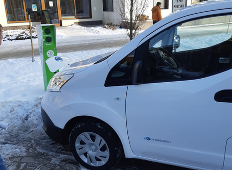 Komplexné riešenie elektromobility pre mestskú políciu v Žiari n. Hronom