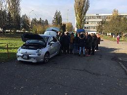 Prezentácia elektromobility pre študentov Súkromného gymnázia v Lúčenci