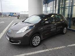 Výstava elektromobility v Metre vo Zvolene
