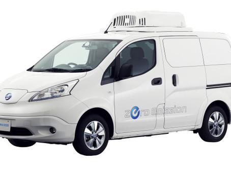 Nissan e-NV200 Fridge koncept