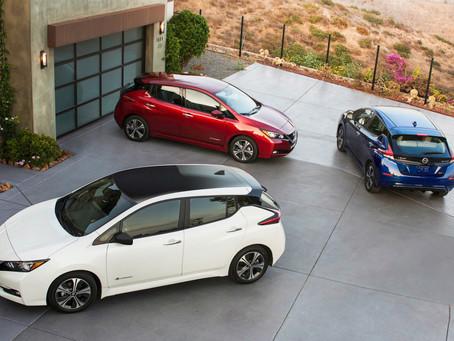 Dojazd nového Nissanu Leaf