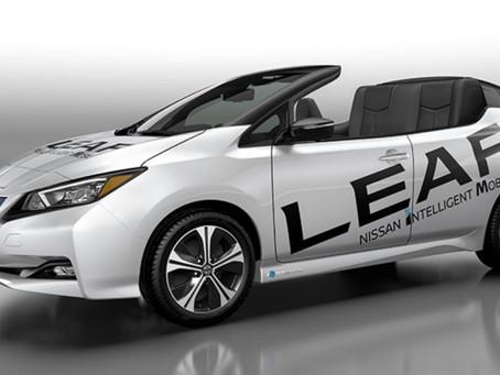 Nissan Leaf ako kabriolet