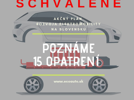 15 opatrení rozvoja elektromobility na Slovensku - SCHVÁLENÉ!