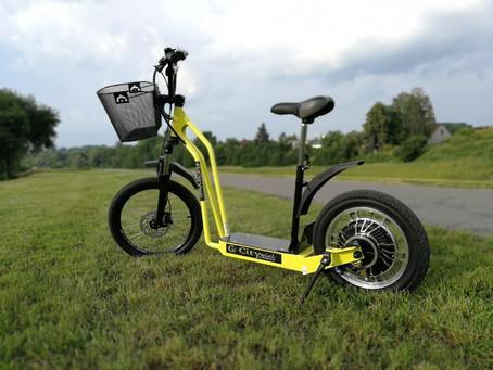 100% elektrická kolobežka Citywiel v ponuke EcoAuto
