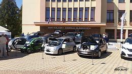 Podpoliansky autosalón - prezentácia elektromobility spol. EcoAuto