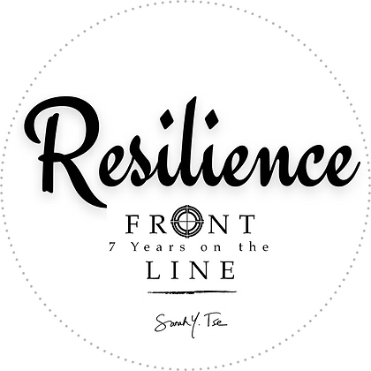 "RESILIENCE 5"" X 5"" Decal"