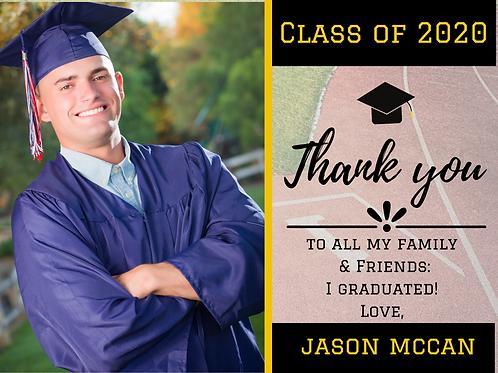 """TAF"" Custom Graduation Sign"