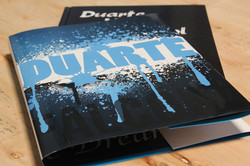 A litho dust jacket wrapped around the cover case