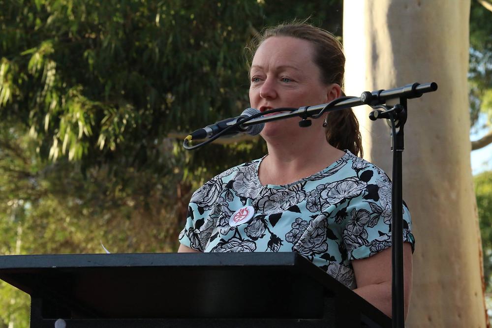 Mayor Cr Susan Rennie