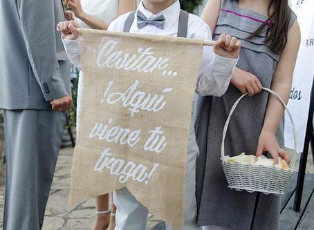 Niños y pajes de boda, también protagonistas !