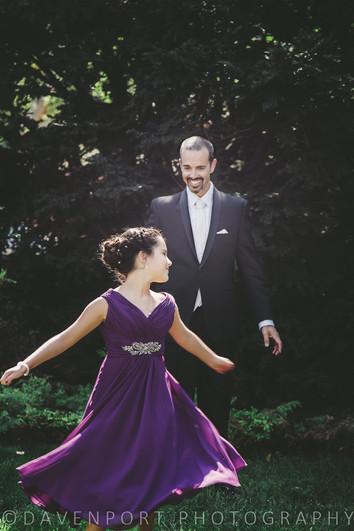 Sneak Peek | Dad & Daughter First Look | Weddings