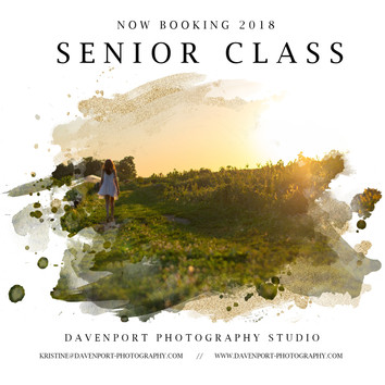 Now Booking | Class of 2018 | Senior Portraits