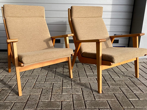 2 Vintage Rob Perry fauteuils