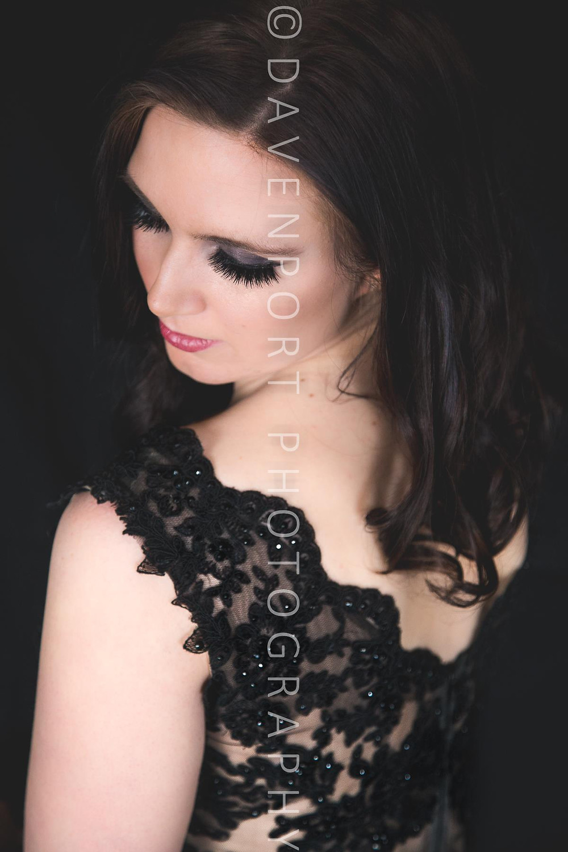 Sneak Peek Contemporary Glamour Beauty Portraits Studio Davenport Photography