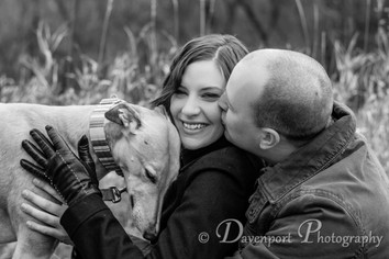 Amy & Corey's First Family Portraits