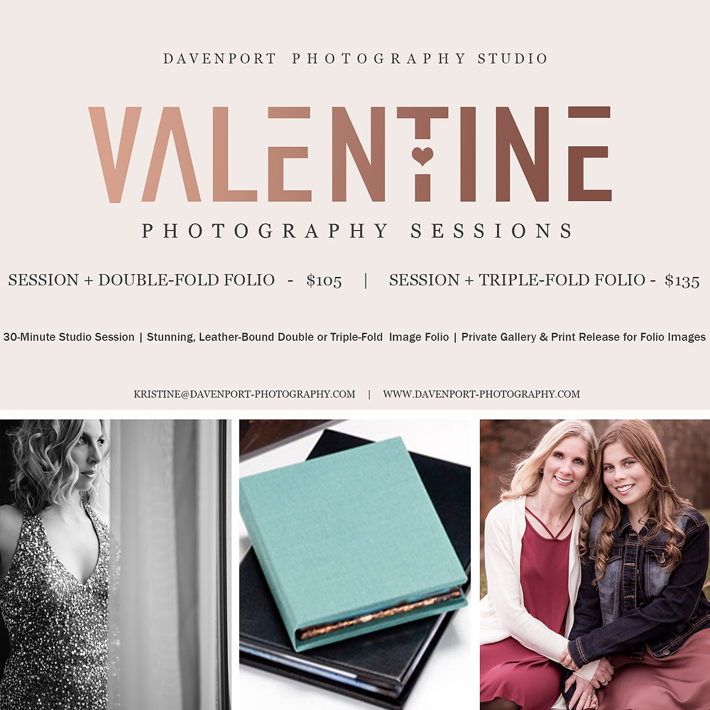 Valentines Photography Offer | Davenport Photography