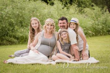 Jerrod & Melissa's Maternity + Family Portraits