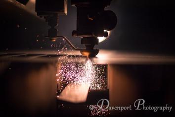 Laser Jet In Action