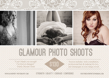 Book Your Glamour Photo Shoot Now!