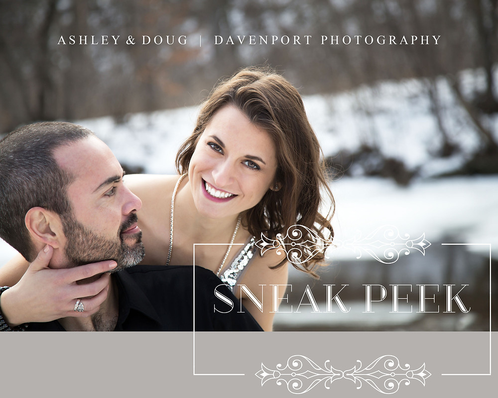 Davenport Photography | Couples | Winter | Engagement