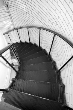 Split Rock Lighthouse Staircase