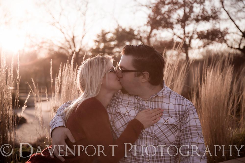 Outdoor Fall Enagement Portrait Photography | Davenport Photography | MN