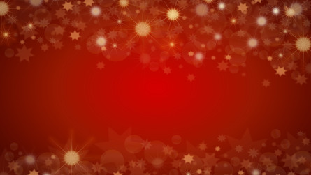 red Christmas sparkle