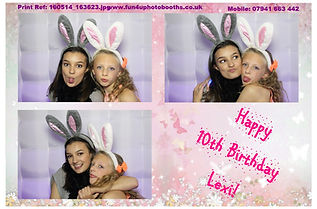 Kid's Birthday Photobooth hire
