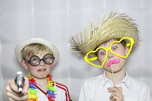 children's photobooth party