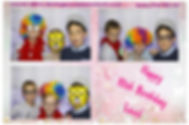 Boy's Party Photobooth ideas