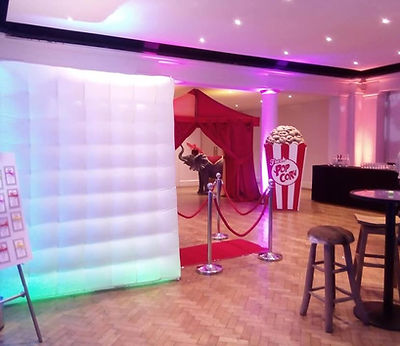 corporate party LED photobooth