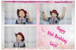 Children's party Photobooth