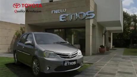TOYOTA ETIOS- BOMBAY