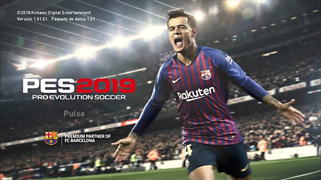 PES 2019 with Coutinho