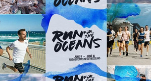 Photoshooting Adidas Run for the Oceans