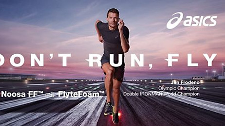 asics  with Jan Frodeno