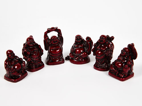 Box Of 6 Buddha Ornaments, Indian Statue, Indian Art, Buddhist Home decor,