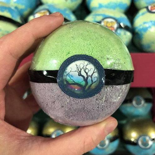 Tree Of Life Pendant Necklace Bath Bomb, Jasmine Fragrance