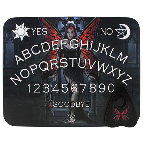 Fairy Spider Wooden Ouija Board Game By Anne Stokes