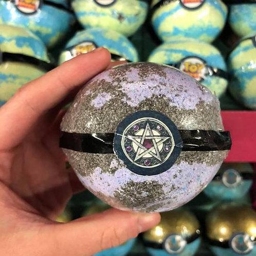 Pentagram Pendant Necklace Bath Bomb, Nag Champa Fragrance